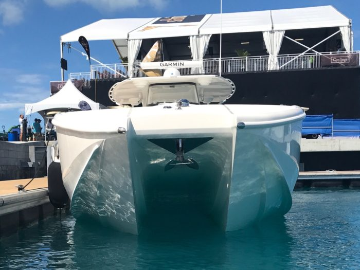 Asymmetrical Catamaran