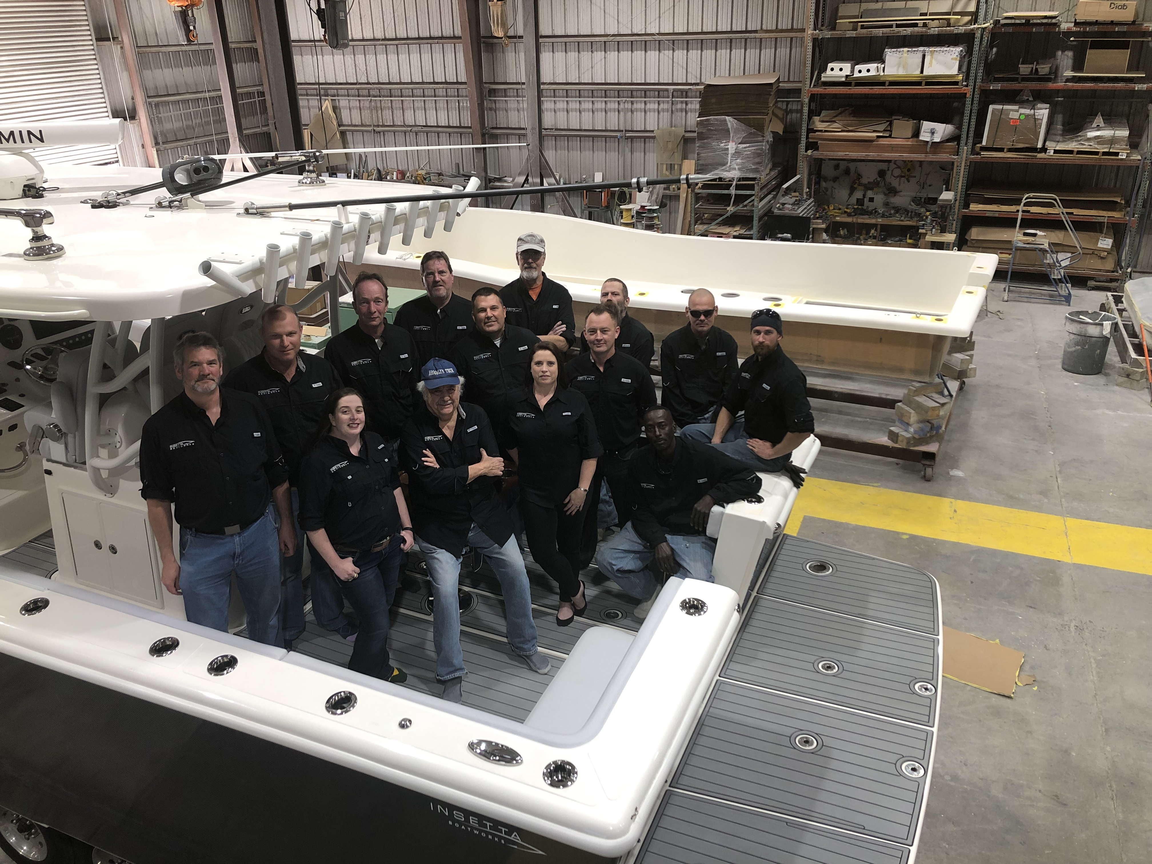 The Insetta Team at the Manufacturing Facility
