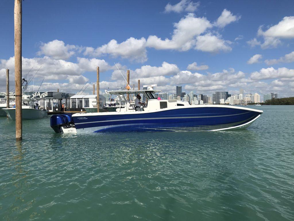 Miami Boat Show, Insetta Boatworks