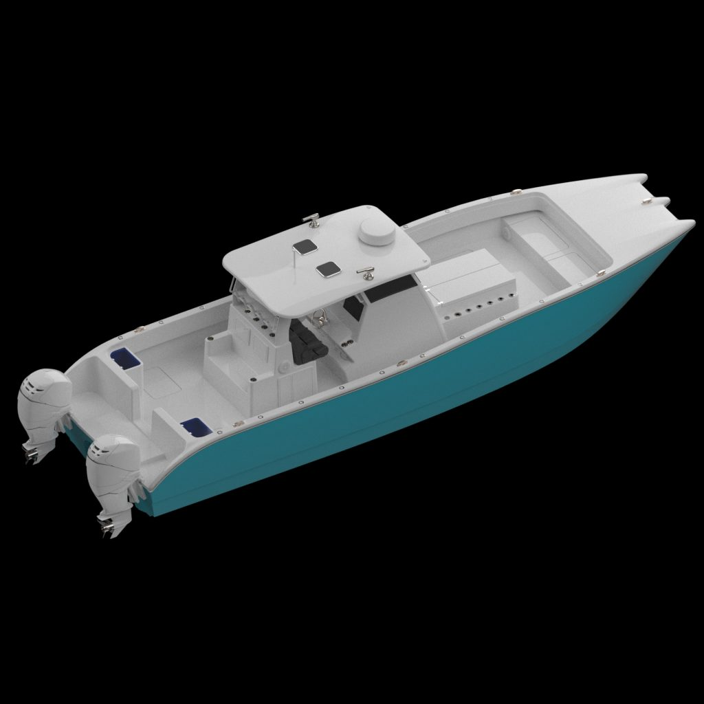 New 35' Hydrofoiling Cat to the Sport Fish Market