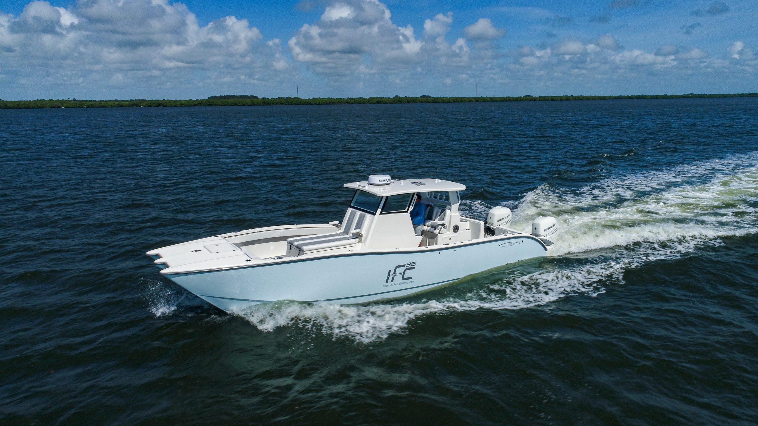 Insetta 35' Foiling Catamaran